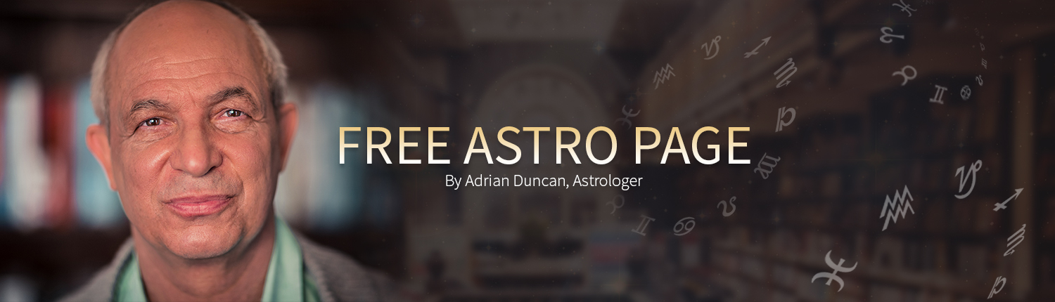 Free Personalized Astrology Page by Adrian Ross Duncan, Astrologer