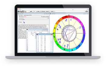 Astrology Software with Interpretation Software Over